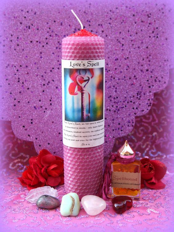 LOVE SPELL Valentine's Day Romance Ritual and by TheSageGoddess, $65.00