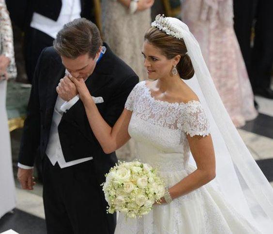 Magdalena de Suecia y Chris O'Neill se dan el 'sí, quiero'