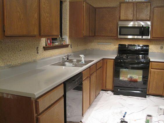 Countertop Paint Repair : countertops painted countertops laminate kitchen countertops painting ...