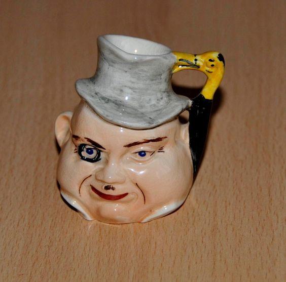 Burlington Pottery? Algy Small Toby Jug