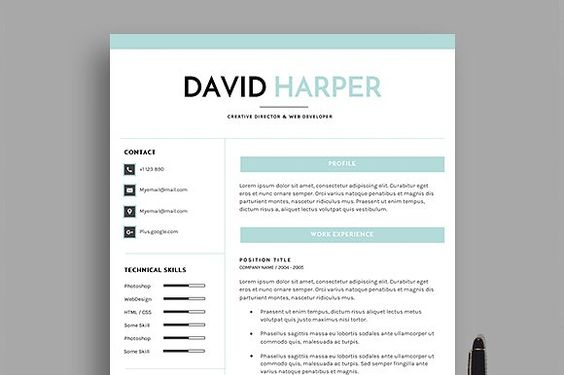 DH Resume (4 Pages) by dkcreatives on @creativemarket Resumes - how to end a resume