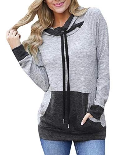 Yayu Womens Hoodie Sweatshirt Sweater Casual Hooded Top Coat Pullover Jacket