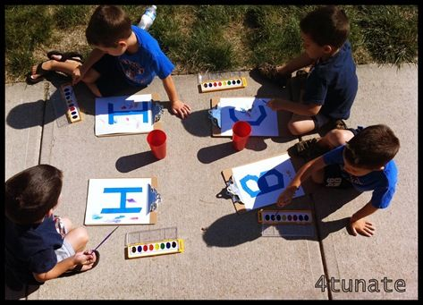 Such a cute idea for preschoolers, that would even look great in a frame!
