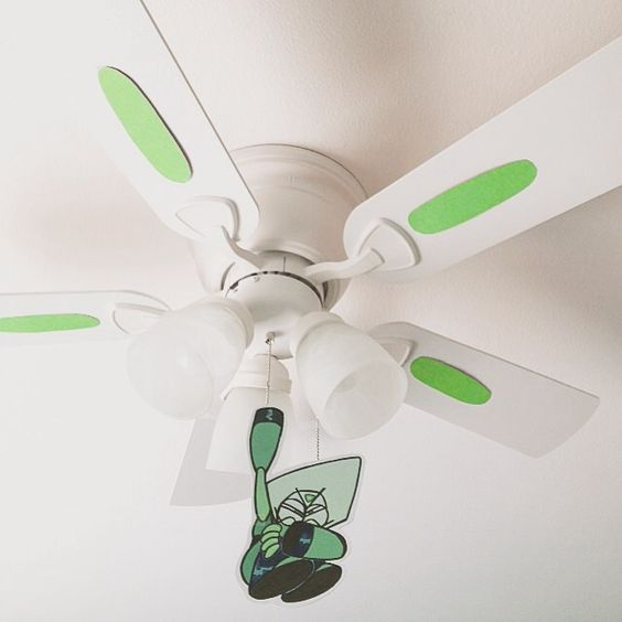 Peridot has been updated, but is still on my ceiling fan ...:Peridot has been updated, but is still on my ceiling fan. Sometimes my mom,Lighting