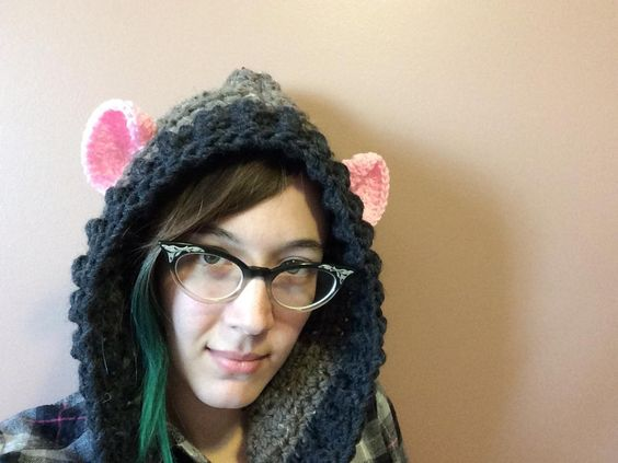 Looking for your next project? You're going to love Hooded Rat by designer NrrdGrrl89.