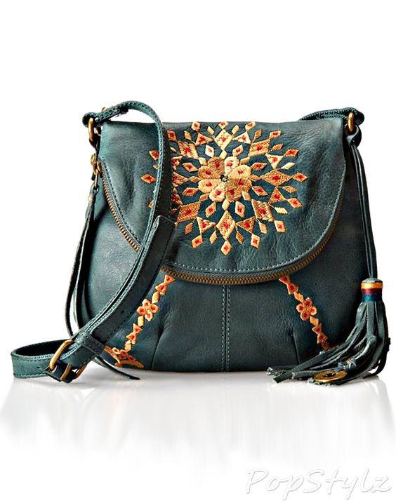 Lucky Brand Casbah Embrodiery Cross Body Bag