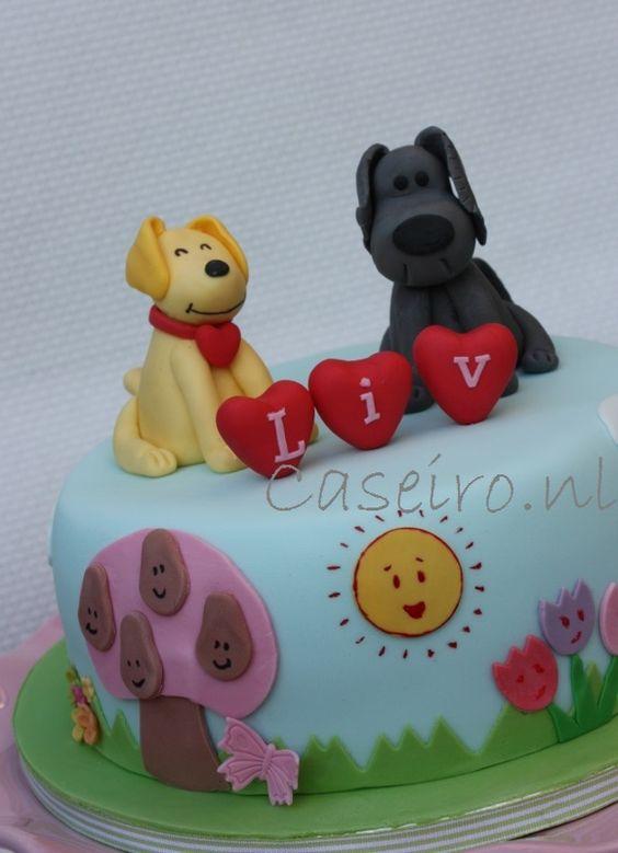 Woezel & Pip brithday cake.