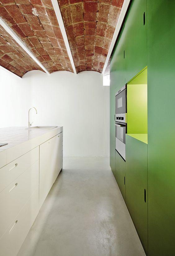 Brilliant Colorful Kitchen