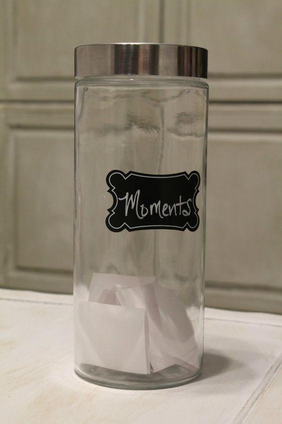 Moments Jar & Free Printable