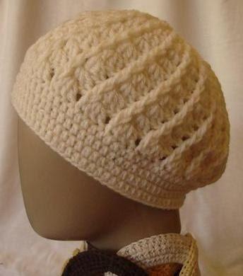 gorro feminino ou masculino - em crochê ou tricô