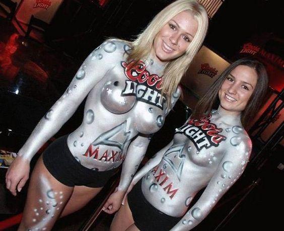 Body Paint Bombshells