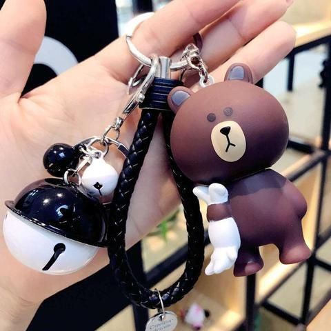 Little bunny cool keychains