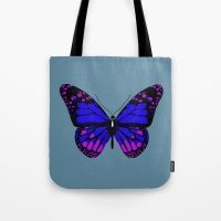 Butterfly Throw Pillows Tote Bag