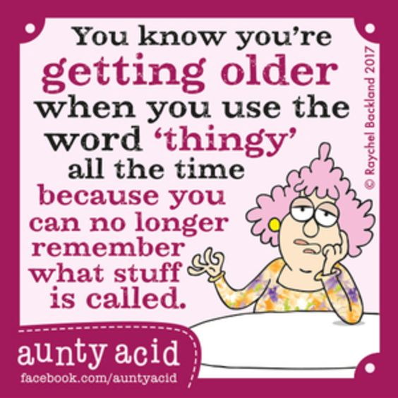 Aunty Acid for 7/11/2017