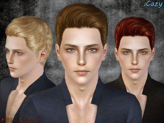 Cazy's Nicholas Hairstyle - Set