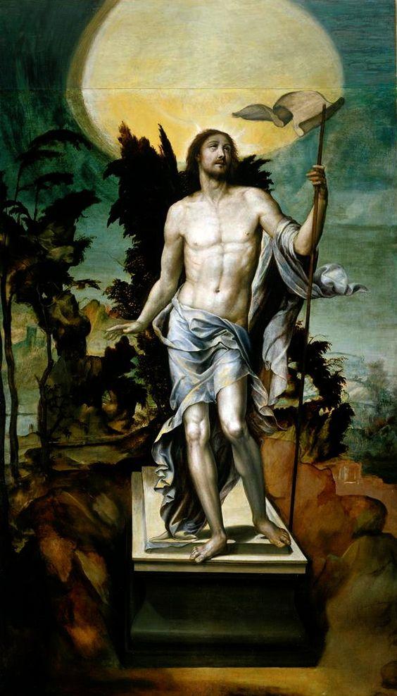 Bartolomeo Neroni (Il Riccio), El Cristo Resucitado, c. 1542: