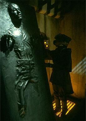 #StarWars Princess Leia gets Han Solo out of the carbonite