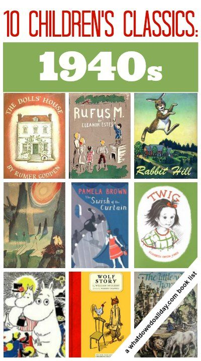 1940s, Children books and Classic on Pinterest