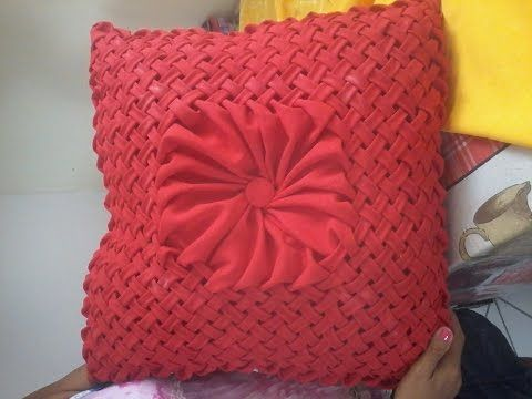Cojín Drapeado Paso A Paso 3 Draped Cushions Diy Almofada Em Capitone Yo M Sewing Projects For Guys Quilting For Beginners Sewing Machine Cover Pattern