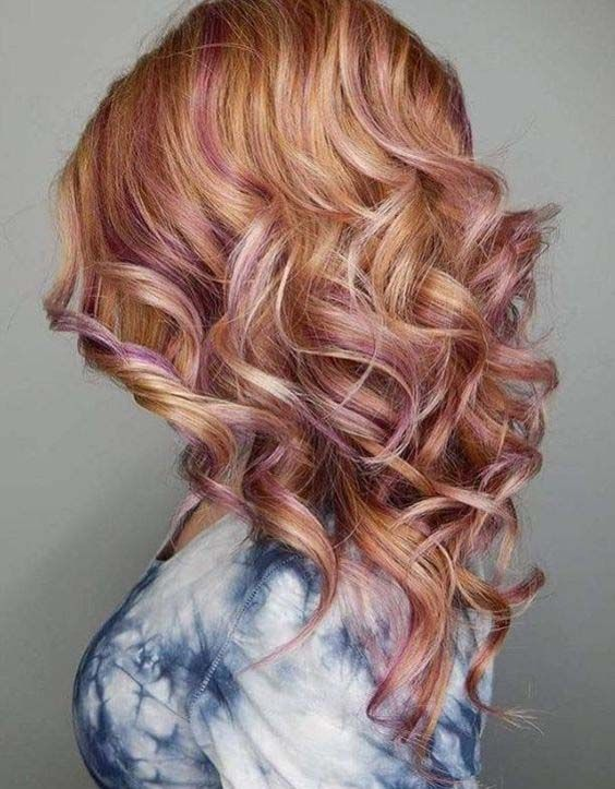 10 Strawberry Blonde Hair With Pink Streaks Pink Blonde Hair