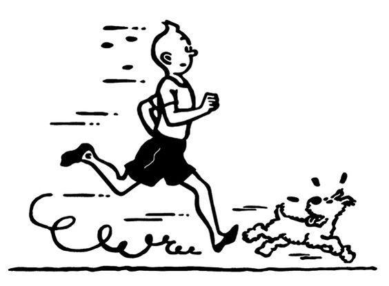 Tintin et le sport