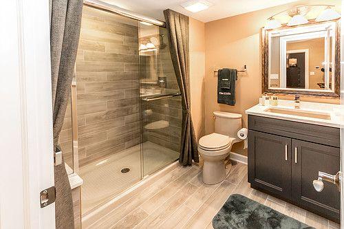 Like The Tilework In This Bathroom Design Click More Design Ideas Bathroom Trends Bathroom Design Photo Bathroom Design