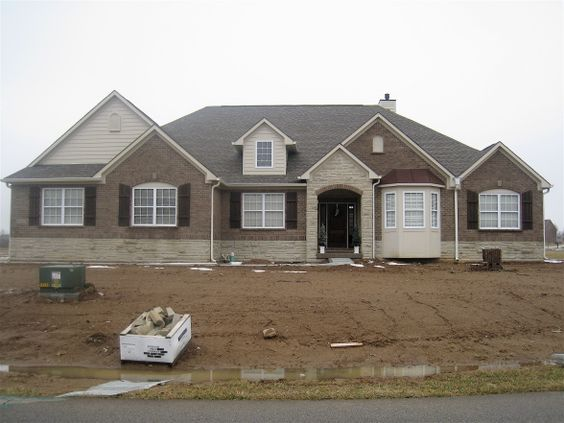 Brick stone exteriors homes brick and stone combo for Brick and stone exterior ideas