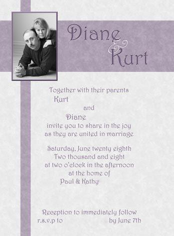 Wedding Invitation Wordings To Friends