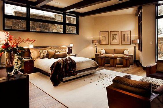 Luxurious Five Star Master Bedroom Creation: Double Master Bedroom In Aspen Home