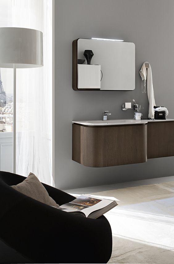 Bagno Suede con finitura legno tinto tabacco http://www.cerasa.it/it_IT/bagni/design/suede/mobile-bagno_classico-suede-new-32