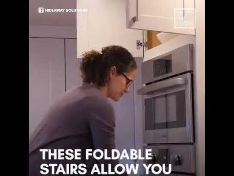 28+ Foldable kitchen stairs built in ideas