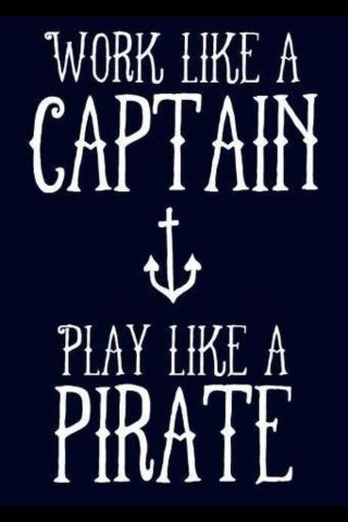 captain/pirate print for boy room. Not sure why this reminded me of you @Kylie Knapp Hamilton lol: