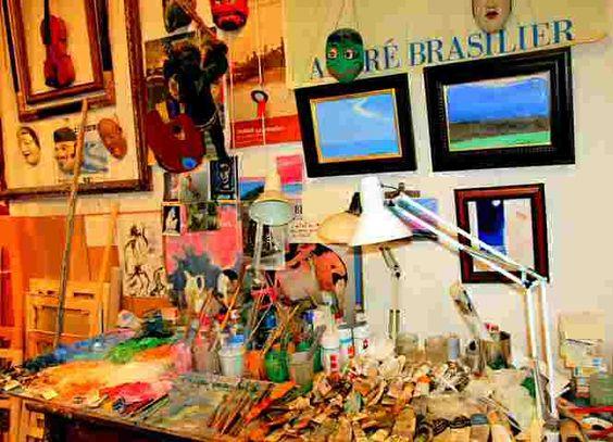 Atelier de Andre Brasilier