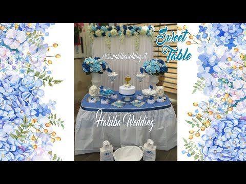 Allestimento Confettata Prima Comunione In Blu Blue Sweet Table Youtube Diaper Cake Children