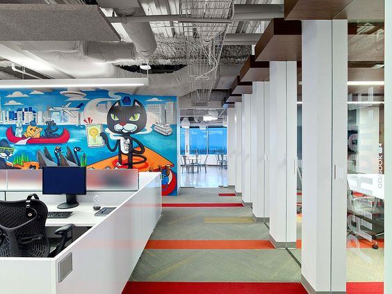 Pinterest the world s catalog of ideas for Office interior projects