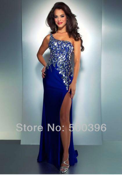 Royal Blue Prom Dresses 2013