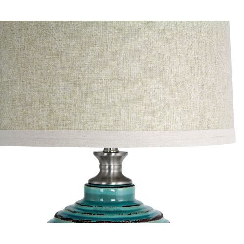 Aspire Table Lamp Beta Ceramic Teal Click Image To Review More Details This Is An Affiliate Link Lamplampshades Lamp Table Lamp Ceramic Table Lamps