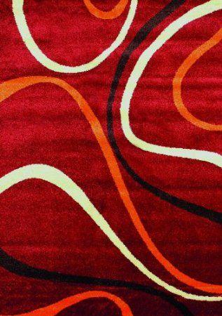 Moderno design tappetoi rosso seleziona la taglia 120 x 170 cm casa e cucina http - Tappeti moderni di design ...
