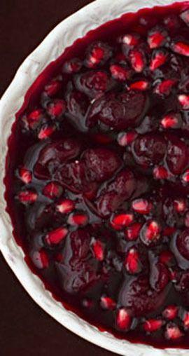 Cranberry-Pomegranate Sauce | gimmesomeoven.com