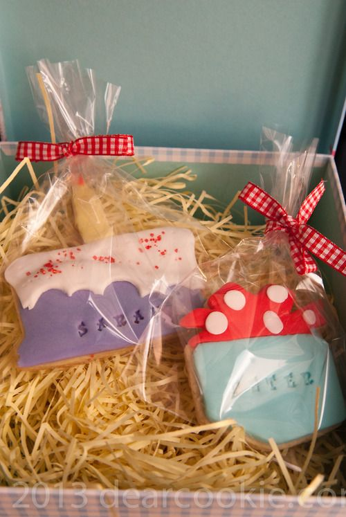 Personalized edible gifts...