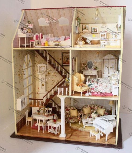 coltd about free shipping diy houseonly yesterdaydoll housebaby houselight house picture light board picture lighted house number sign picture and brand baby wooden doll house