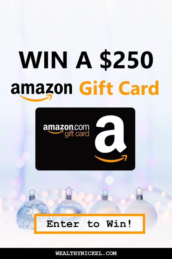 Enter To Win A Free 100 Amazon Gift Card For 2021 Holiday Gift Card Amazon Gift Cards Amazon Gift Card Free