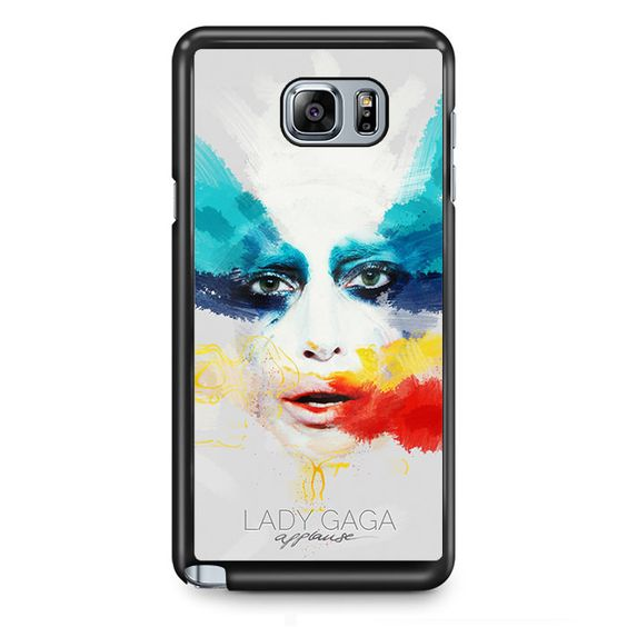 Lady Gaga Applause Design TATUM-6266 Samsung Phonecase Cover Samsung Galaxy Note 2 Note 3 Note 4 Note 5 Note Edge