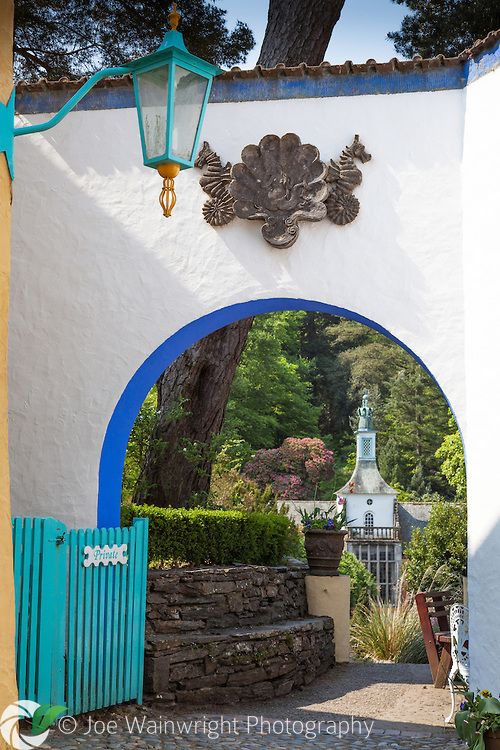 The beautiful Italianate village of Portmeirion, Gwynedd, North Wales, was designed by architect Sir Clough Williams-Ellis and built over a 50 year period from 1925.