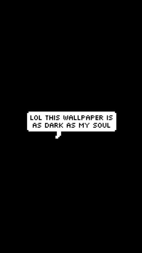 Dark As My Soul Foundonweheartit Iphonebackground