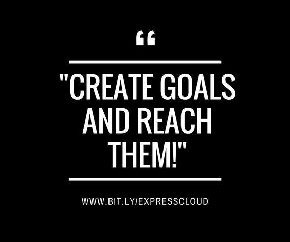 ✨Create Goals and Reach Them✨