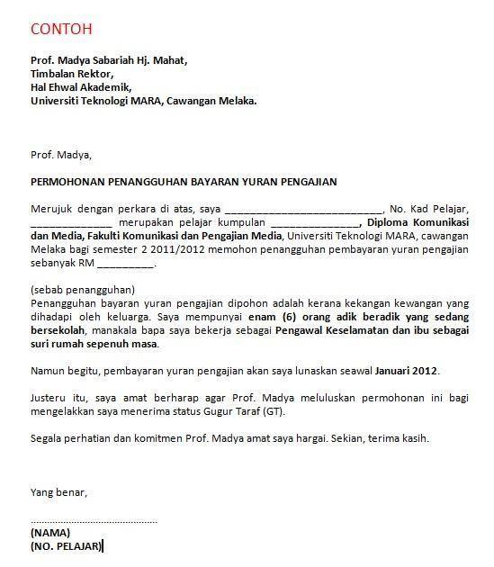 Surat Permohonan Kerjasama Surat Permohonan Kerja Surat