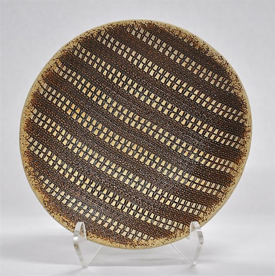 Striped Bowl by Kelly Jean Ohl: Ceramic Bowl available at www.artfulhome.com: