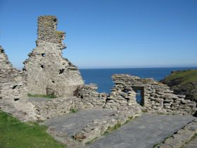 King Arthur Tintagel Castle | England - South West - Cornwall - Tintagel Castle