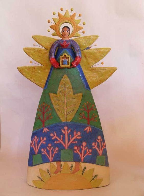 pinkpagodastudio: Santa Fe Beauty--Lisa Smith Ceramics